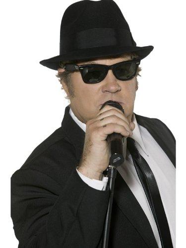 Smiffys Male Blues Brothers Sunglasses (Blues Brothers Costume Uk)