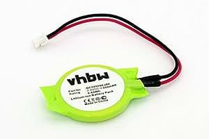 vhbw Li-Ion Bio Batería 200mAh (3.0V) Notebook Laptop HP Compaq Presario CQ56-102EA, CQ56-102EG por GC02000KJ00.