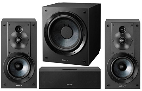 Sony 5.1-Channel Surround Sound Multimedia Home Theater Spea