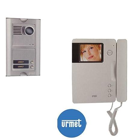 Schema Elettrico Urmet 2 Voice : Kit video citofono a colori 2 voice col signo&sinthesi videocitofono