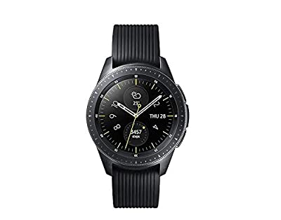 Samsung Galaxy Watch (42mm) Smartwatch (Bluetooth) Android/iOS Compatible -SM-R810 - Intenational Version -No Warranty ... (Midnight Black)