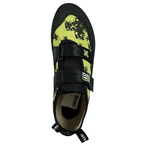 Millet Easy Up - Calzado de botas de senderismo para hombre black/sulfure