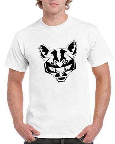 Designer Hombre Puma 5xl S Wilderness Camiseta Wild Camiseta Blanco 2store24 Estampado Cool p0qO7wxT