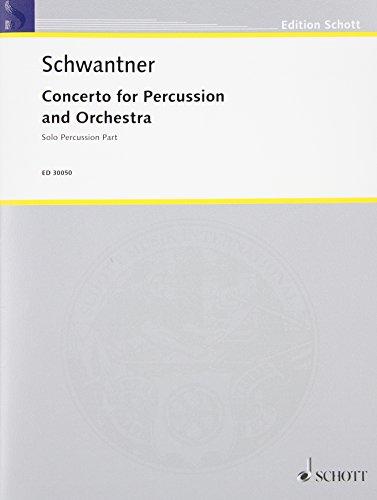 [Percussion Concerto No. 1 - Revised Solo Percussion Part] (Orchestral Percussion)