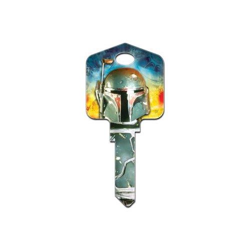 Star Wars Boba Fett Kwikset KW1 House Key