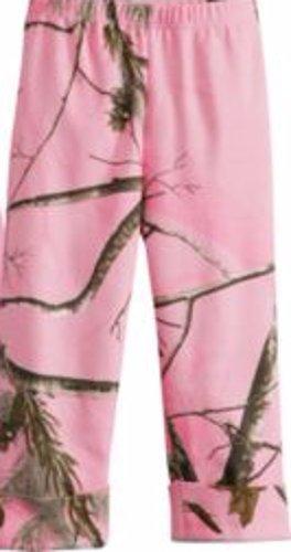 AP Pink RealTree Mini Toddler Camo Knit Pant 4T