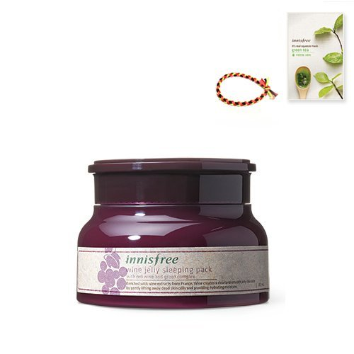 Innisfree Wine Jelly Sleeping Pack 2.70oz(80ml)
