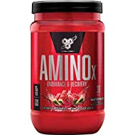 BSN Amino X Muscle Recovery & Endurance Powder with BCAAs, 10 Grams of Amino Acids, Keto Friendly, Caffeine Free, Flavor: Watermelon, 30 Servings (Packaging May Vary)
