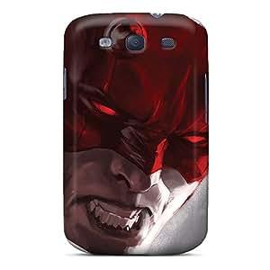Flexible Tpu Back Case Cover For Galaxy S3 - Daredevil I4