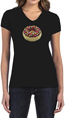 IngraveIT Cotton V Neck T-Shirt For Women