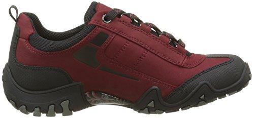 Caoutchouc Course Rouge 1 Moyen G Fina Mephisto Pour tex noir 48 nubuk Chaussures Femmes De 4qzwzB