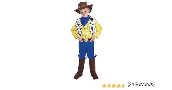 Fun Shack Amarillo Vaquero Disfraz para Niños y Niñas - S: Amazon ...