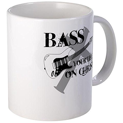 CafePress Bass Christ Unique Coffee