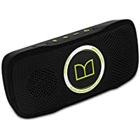 SuperStar BackFloat High Definition Bluetooth Speakers, Black with Neon Green- Waterproof and floating