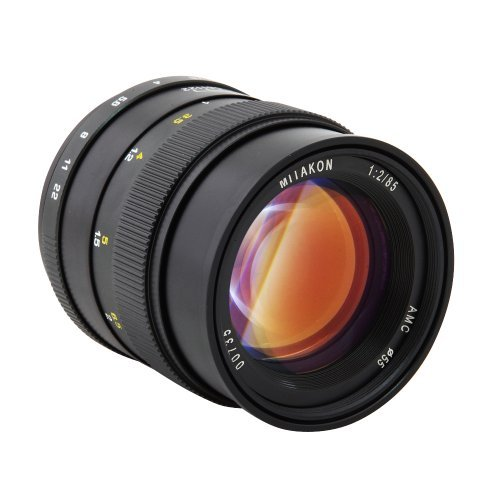 Mitakon Zhongyi SLR 85mm F2.0 Silent Frame Prime Camera Lens for Canon Ef Mount Camera