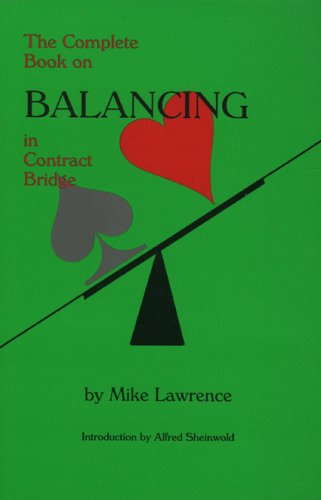 Download The Complete Book on Balancing in Contract Bridge ebook