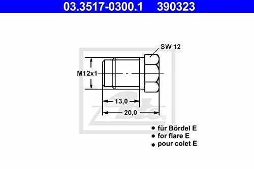 ATE 03.3517-0300.1 Verschlussschraube, Hauptbremszylinder Continental AG