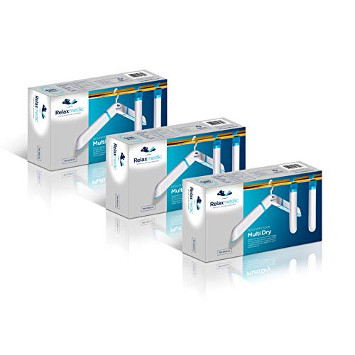 Kit com 3 Desumidificador de Ambiente Antimofo de Cabide