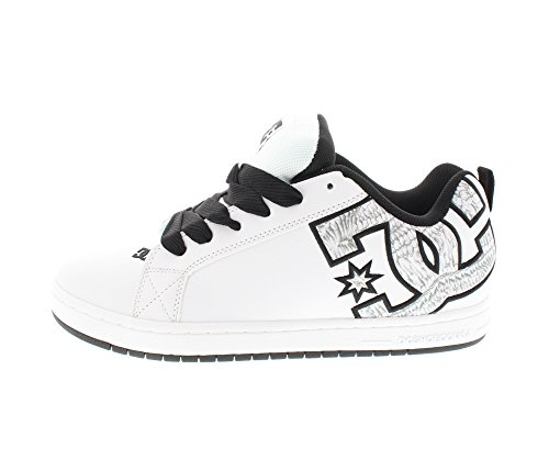 DC Shoes Court Graffik S M Shoe Bkz - Zapatillas para hombre Weiß (WW3),