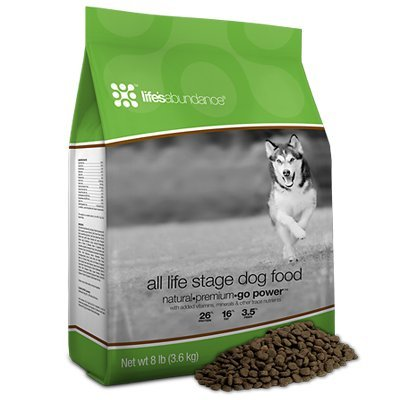 Life's Abundance All Stage Life Dry Dog Food  - 8lb Bag