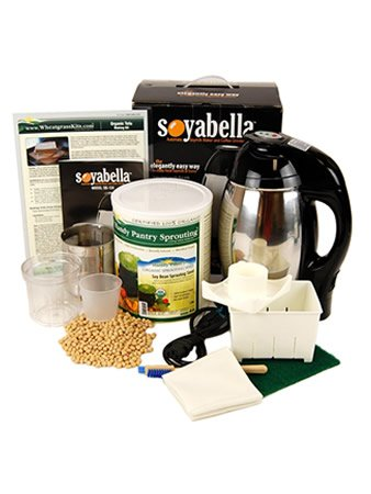 Soymilk & Tofu Making Kit: Includes 5 Lbs. Organic Yellow Soybeans, Tofu Maker & Soyabella Soy Milk Machine by Handy Pantry