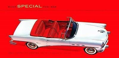 1956 Buick Special Convertible Model 46C Promotional Advertising Poster ()