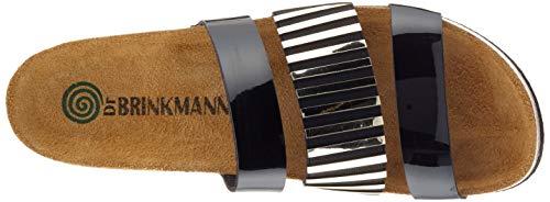 mules femme 701201 Dr 1 Brinkmann Schwarz clogs amp; aqpwY48p