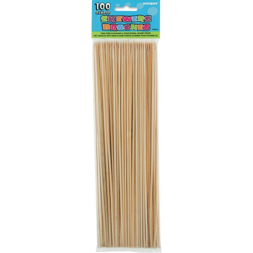 Bamboo BBQ Skewers, 100ct -