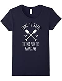 Home is Where The Dog and the Kayak Are Love Sports Tee