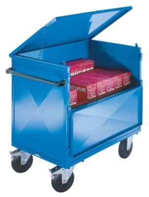 BEG Blechkastenwagen mit Deckel .Tragfähigkeit 500 kg. 20022901
