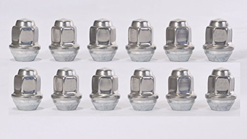 eCustomRim 12 pack Capped Lug Nuts 1/2