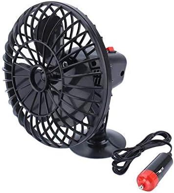 qiilu 12 V 4, verano Mini aire ventilador de refrigeración con ...