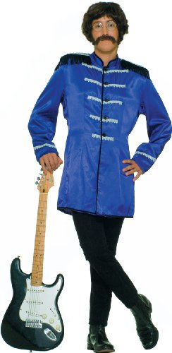 Adult's Blue Sgt. Pepper Beatles Costume Jacket -