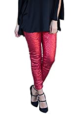 Women's Sequin Pants High Waist Skinny Leggings