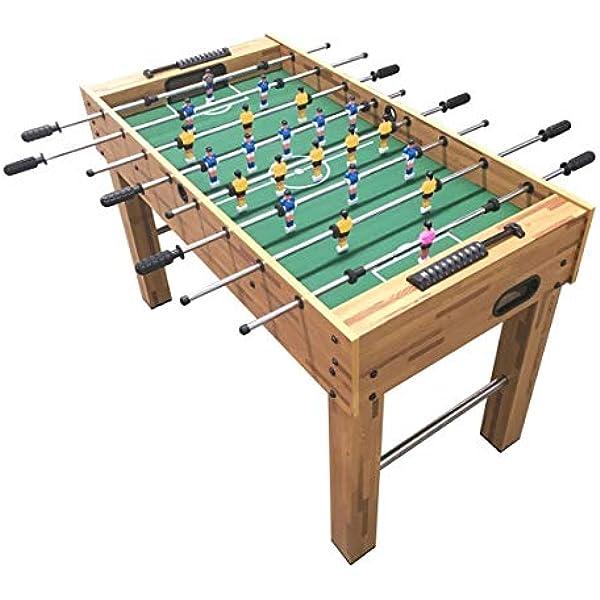 VEDES Großhandel GmbH - Ware- Natural Games - Futbolín (122 x 61 x 7 cm), Color carbón (61704329): Amazon.es: Juguetes y juegos