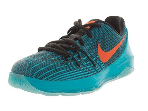 Nike Kids KD 8 (PS) Bl Lgn/Brght Ctrs/Blk/Td Pl Bl Basketball Shoe 11 Kids US