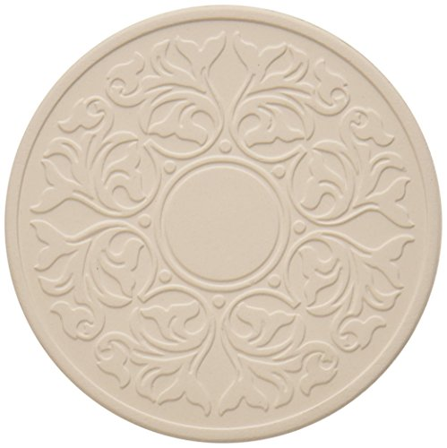 """CoasterStone EC400 Absorbent Coasters, 4-1/4-Inch, """"Victorian Lace"""", Set of 4"""