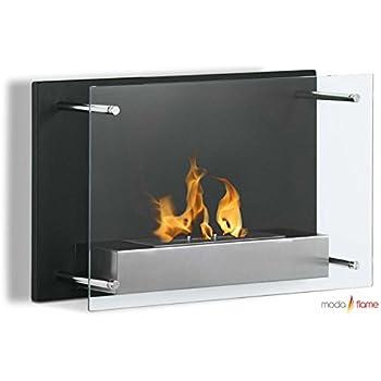Moda Flame Epila Wall Mounted Ethanol Fireplace