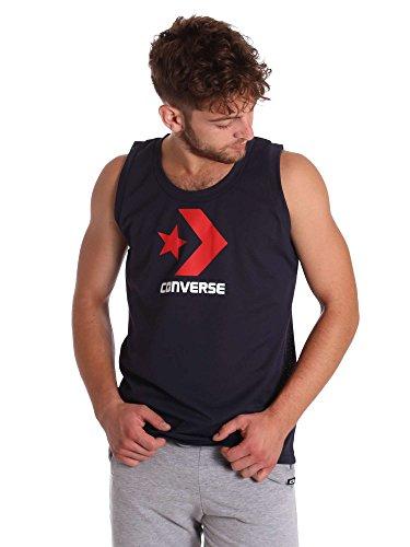 Converse 10005006 Canotta Uomo Blu Xs