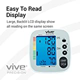 Vive Precision Blood Pressure Machine - Heart Rate