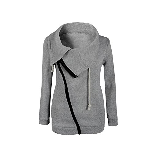 Hengzhi Women's Zipper Hoodie Cotton Special Cute Teen Girls Pullover Coat Fall (Cute Cheap Coats For Women)