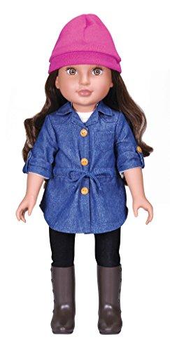 Hispanic Girl (Kindred Hearts Dolls Serena Girl Doll, Hispanic, 18