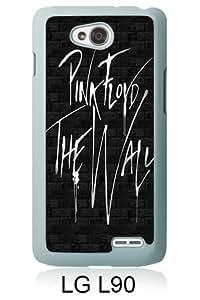 Best Sale LG L90 Case Pink Floyd 1 White Fashionable LG L90 Custom Case