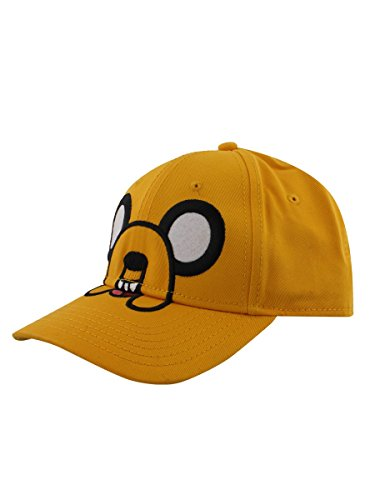 Adventure Time 86702ADV Jake Face Adjustable Cap (One Size)