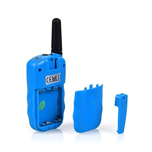 ISCOOL Walkie Talkies for Kids Long Range Two Way Radio Kids Walkie Talkies 22 Channel Outdoor Toys for Girls and Boys(2 PCS ,Blue by iscool (Image #3)