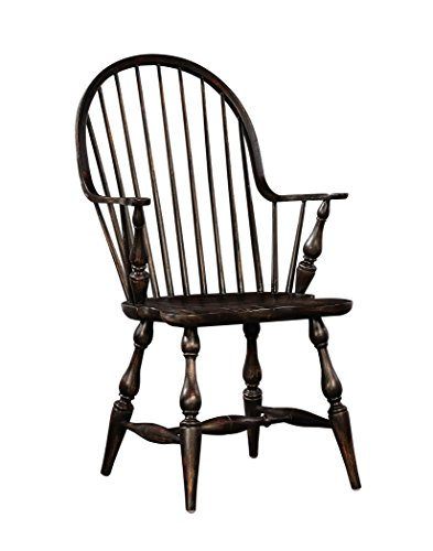 Sloane Elliot SE0069 Provence Windsor Arm Chair, Brown, Set of (Kitchen Windsor Chair)