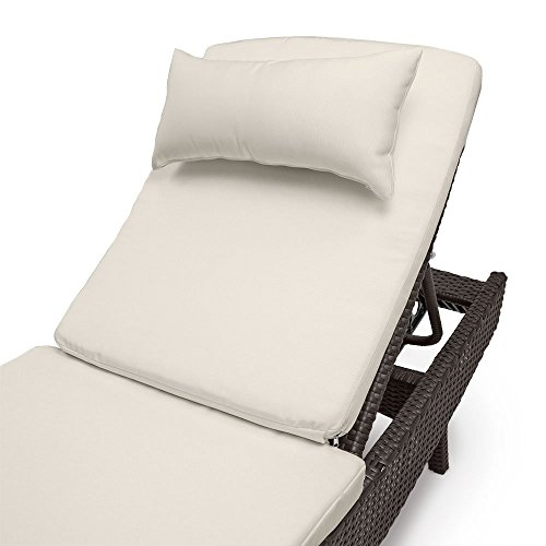 All weather outdoor chaise lounge cushion by sol coastal for All weather chaise lounge
