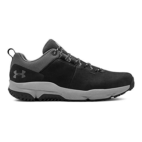 Under Armour Men's Culver Low Waterproof Sneaker Hiking Shoe, Black (001)/Pitch Gray, 10 ()