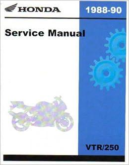 honda vtr vtr250 1988 1989 motorcycle service repair manual