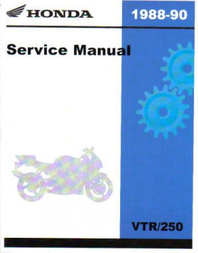 61KV002 1988-1990 Honda VTR250 Interceptor Service Manual